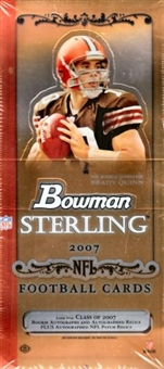 2007 Bowman Sterling Football Hobby Box