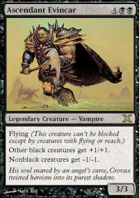 Magic the Gathering 10th Edition Single Ascendant Evincar - NEAR MINT (NM)