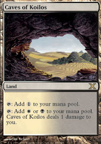 Magic the Gathering 10th Edition Single Caves of Koilos - NEAR MINT (NM)