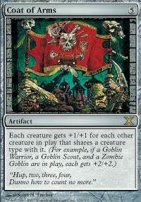 Magic the Gathering 10th Edition Single Coat of Arms Foil
