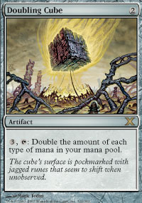Magic the Gathering 10th Edition Single Doubling Cube Foil