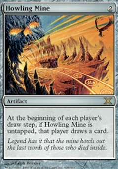 Magic the Gathering 10th Edition Single Howling Mine Foil