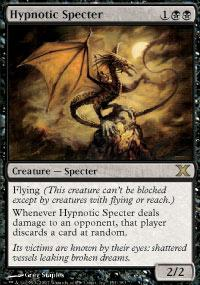 Magic the Gathering 10th Edition Single Hypnotic Specter - NEAR MINT (NM)