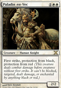 Magic the Gathering 10th Edition Single Paladin en-Vec Foil