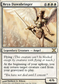 Magic the Gathering 10th Edition Single Reya Dawnbringer Foil