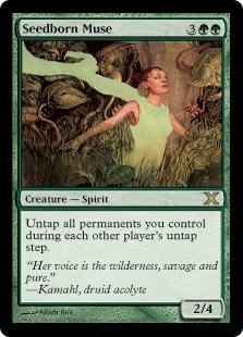Magic the Gathering 10th Edition Single Seedborn Muse - NEAR MINT (NM)