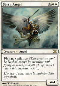 Magic the Gathering 10th Edition Single Serra Angel - NEAR MINT (NM)