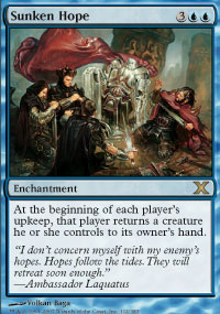 Magic the Gathering 10th Edition Single Sunken Hope - NEAR MINT (NM)