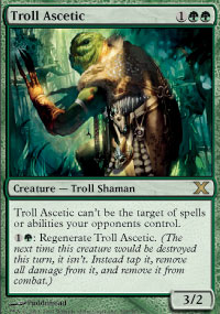 Magic the Gathering 10th Edition Single Troll Ascetic Foil