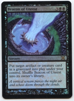 Magic the Gathering 10th Edition Single Beacon of Unrest Foil