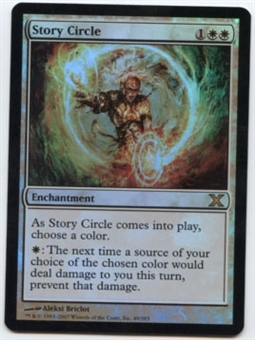 Magic the Gathering 10th Edition Single Story Circle Foil