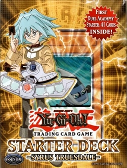 Upper Deck Yu-Gi-Oh GX Duel Academy Syrus Truesdale Starter Deck - OPENED