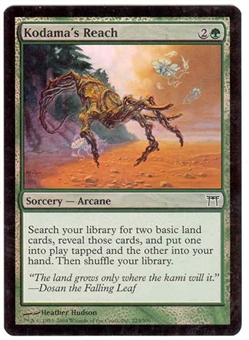 Magic the Gathering Champs of Kamigawa Single Kodama's Reach Foil
