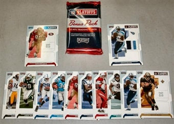 2007 Playoff NFL Playoffs Football Super Bonus Pack