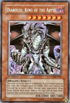 Yu-Gi-Oh Force of the Breaker Single Diabolos, King of the Abyss Secret Rare