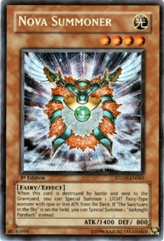 Yu-Gi-Oh Strike of Neos Single Nova Summoner Secret Rare