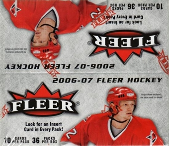 2006/07 Fleer Hockey 36-Pack Box