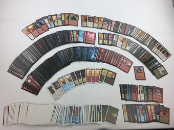 Magic the Gathering 93/94 Old School 575 Card Lot Various Conditions - Unlimited, Arabian Nights, Antiquities,