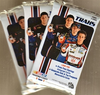 2007 Press Pass Traks Racing Hobby Pack