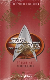 Star Trek: The Next Generation Season Six Hobby Box (1996 Skybox)