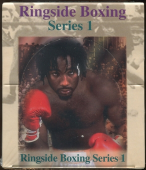 1996 Ringside Boxing Series 1 Hobby Box