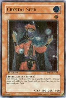 Yu-Gi-Oh Tactical Evolution Single Crystal Seer Ultimate Rare