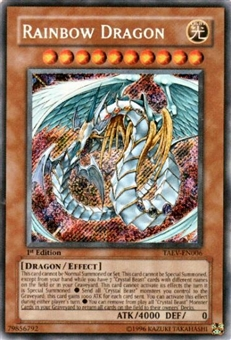 Yu-Gi-Oh Tactical Evolution Single Rainbow Dragon Secret Rare