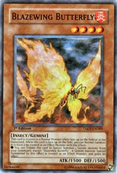 Yu-Gi-Oh Tactical Evolution Single Blazewing Butterfly Super Rare