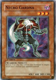 Yu-Gi-Oh Tactical Evolution Single Necro Gardna Super Rare