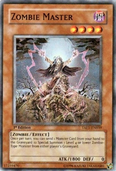 Yu-Gi-Oh Tactical Evolution Single Zombie Master Super Rare