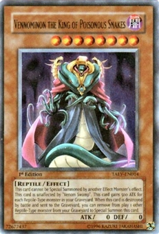 Yu-Gi-Oh Tactical Evolution Single Vennominon King Poisonous Snakes Ultra Rare