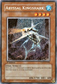 Yu-Gi-Oh Tactical Evolution Single Abyssal Kingshark Secret Rare