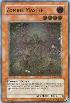 Yu-Gi-Oh Tactical Evolution Single Zombie Master Ultimate Rare