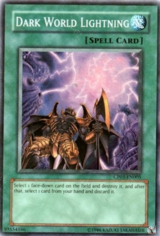 Yu-Gi-Oh Champion Pack 3 Single Dark World Lightning Super Rare