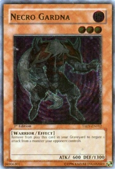 Yu-Gi-Oh Tactical Evolution Single Necro Gardna Ultimate Rare - SLIGHT PLAY (SP)