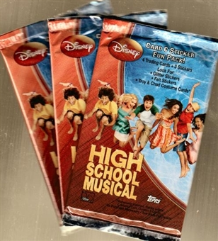 High School Musical Hobby Pack (Topps)