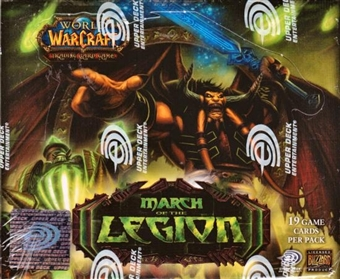 World of Warcraft March of the Legion Booster Box