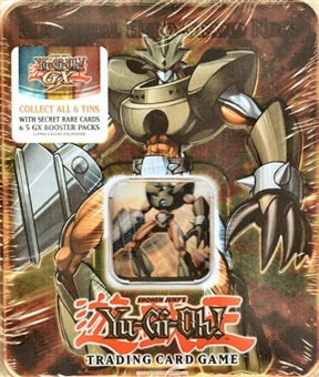 Upper Deck Yu-Gi-Oh 2007 Holiday GX Elemental Hero Grand Neos Tin
