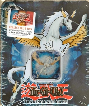 Upper Deck Yu-Gi-Oh 2007 Holiday Crystal Beast Sapphire Pegasus Tin