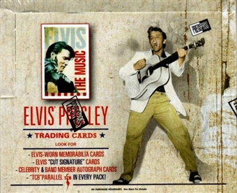 Elvis The Music Hobby Box (2007 Press Pass)