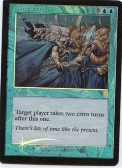 Magic the Gathering Odyssey Single Time Stretch Foil NEAR MINT (NM)