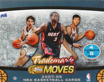 2007/08 Topps Trademark Moves Basketball Hobby Box