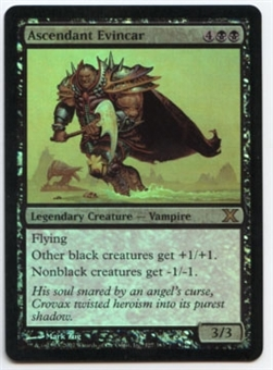 Magic the Gathering 10th Edition Single Ascendant Evincar FOIL