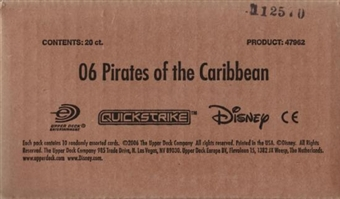 Upper Deck Pirates Of The Caribbean Dead Man's Chest 20-Pack Booster Box