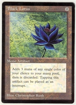 Magic the Gathering Promo Single Black Lotus 6x9 (NM)
