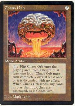 Magic the Gathering Promo Single Chaos Orb 6x9 (NM)