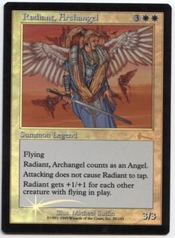 Magic the Gathering Urza's Legacy Single Radiant, Archangel Foil