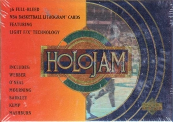 1993/94 Upper Deck Holojam Basketball Factory Set