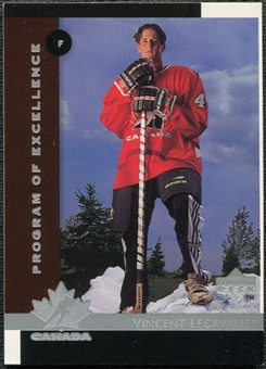 1997/98 Upper Deck #412 Vincent Lecavalier