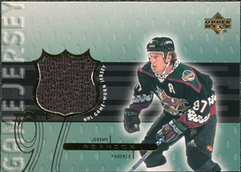 1999/00 Upper Deck Game Jerseys Series II #JR Jeremy Roenick